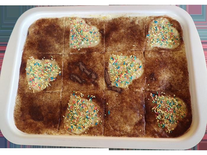 Домашна бисквитена торта с млечен крем
