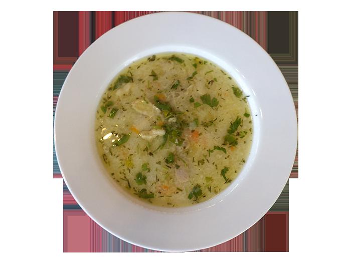 Супа от домашна кокошка