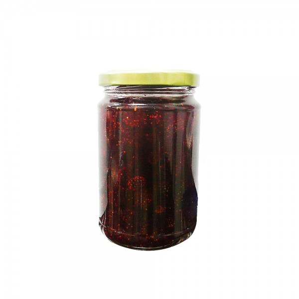 Домашно сладко (касис, малини, рози, зелени домати, череша, вишна, ягода, круша, дюля)