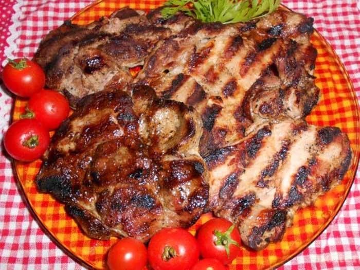 Свинска пържола от бут 750 гр